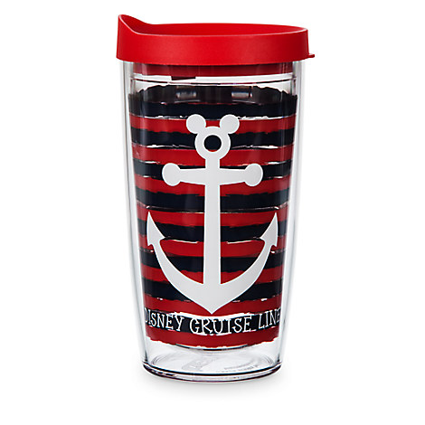 Mickey Mouse Anchor Icon - Disney Cruise Line Travel Tumbler by Tervis