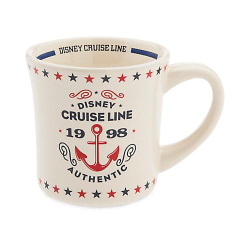 Disney Cruise Line Retro Diner Mug