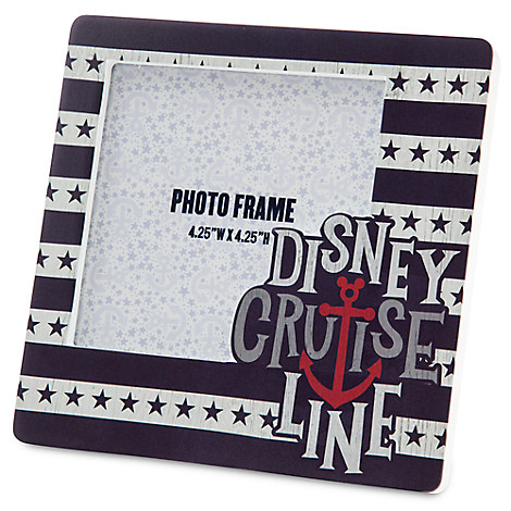 Disney Cruise Line Photo Frame - 4 1/4'' x 4 1/4''