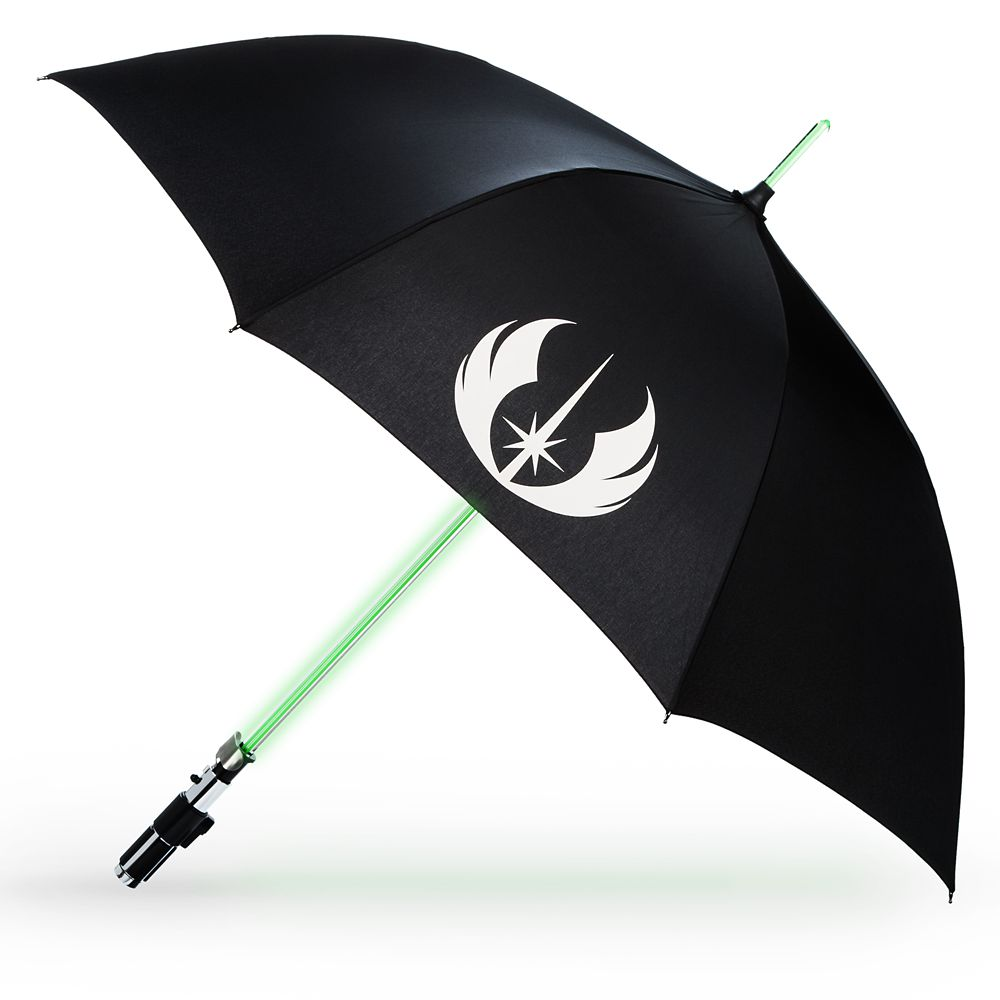 Yoda Light-Up Lightsaber Umbrella