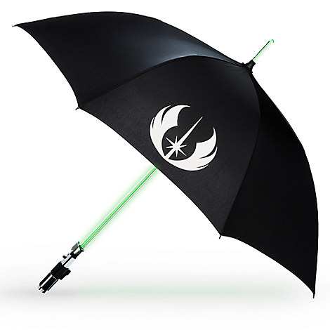 Yoda Light-Up Lightsaber Umbrella