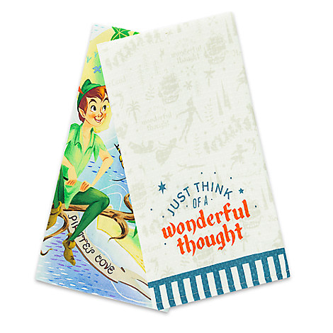 Never Land Kitchen Towel Set - Peter Pan