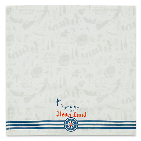 Never Land Cloth Napkin - Peter Pan