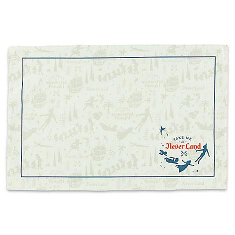 Never Land Cloth Placemat - Peter Pan