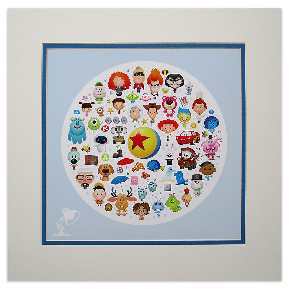 ''World of Pixar'' Deluxe Print by Jerrod Maruyama