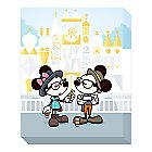 Mickey and Minnie Mouse ''Small World Selfies'' Giclee by Jerrod Maruyama