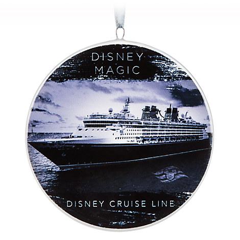 Disney Magic Ceramic Ornament - Disney Cruise Line