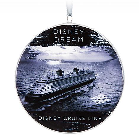 Disney Dream Ceramic Ornament - Disney Cruise Line