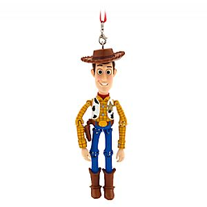 Woody Articulated Ornament