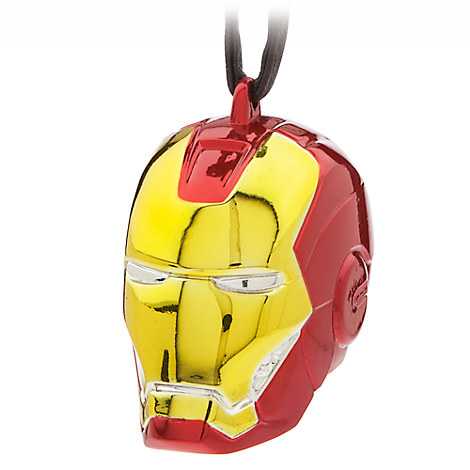 Iron Man Helmet Ornament