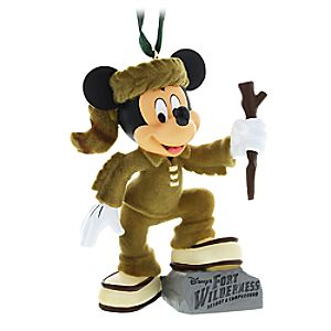 Mickey Mouse Fort Wilderness Figural Ornament