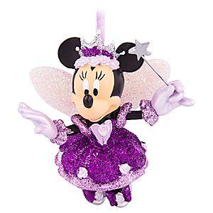 Minnie Mouse Sugar Plum Fairy Ornament