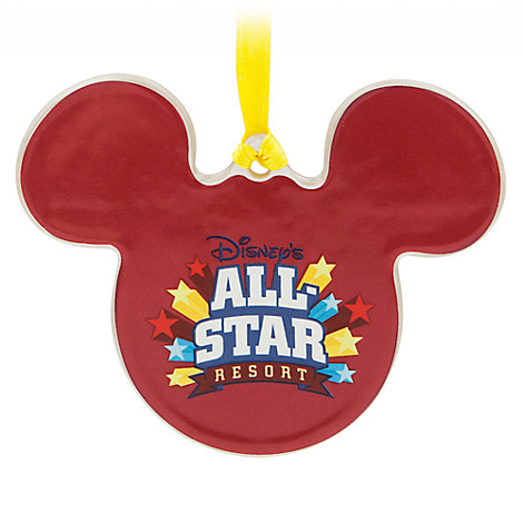 Mickey Mouse All-Star Resort Ornament