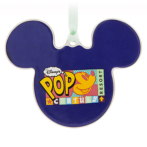 Mickey Mouse Pop Century Resort Ornament