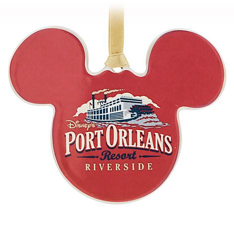 Mickey Mouse Port Orleans Riverside Resort Ornament