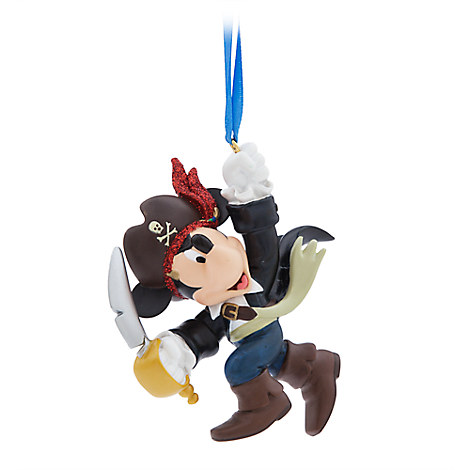 Mickey Mouse Pirate Figural Ornament