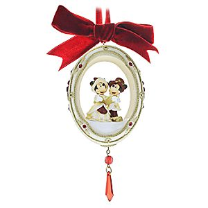Mickey & Minnie Carolers Ornament