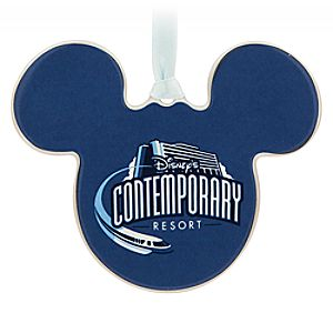 Mickey Mouse Contemporary Resort Ornament