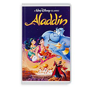 Aladdin ''VHS Case'' Journal