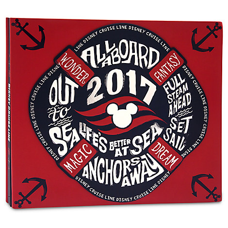 Disney Cruise Line 2017 Scrapbook Album