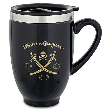Pirates of the Caribbean Ceramic Travel Mug