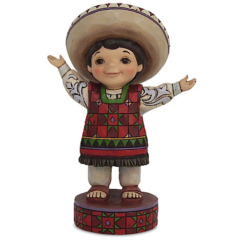 ''it's a small world'' Mexico Figure by Jim Shore