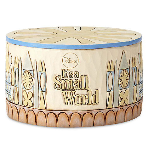 ''it's a small world'' Musical Base by Jim Shore