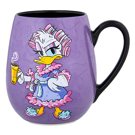 Daisy Duck ''Morning'' Mug