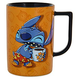 "Stitch ""Morning"" Mug"