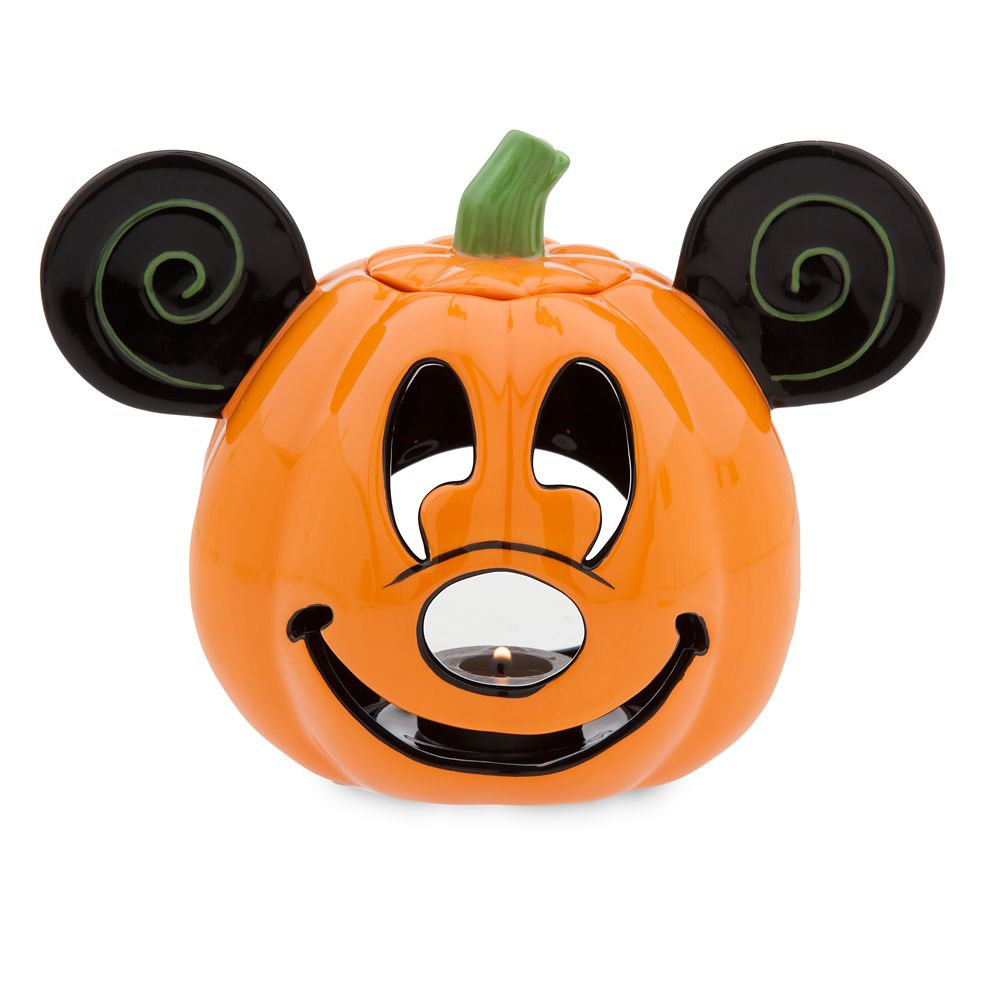 Mickey Mouse Pumpkin Votive Candle Holder Official shopDisney