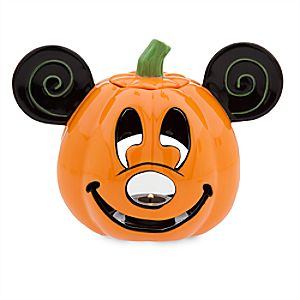 Mickey Mouse Pumpkin Votive Candle Holder