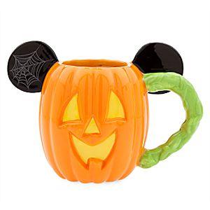 Mickey Mouse Pumpkin Halloween Mug