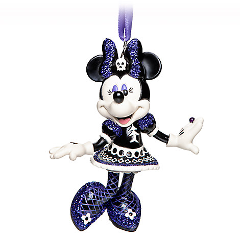 Minnie Mouse Halloween Figural Ornament