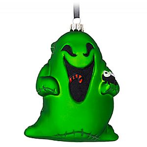 Oogie Boogie Glass Ornament