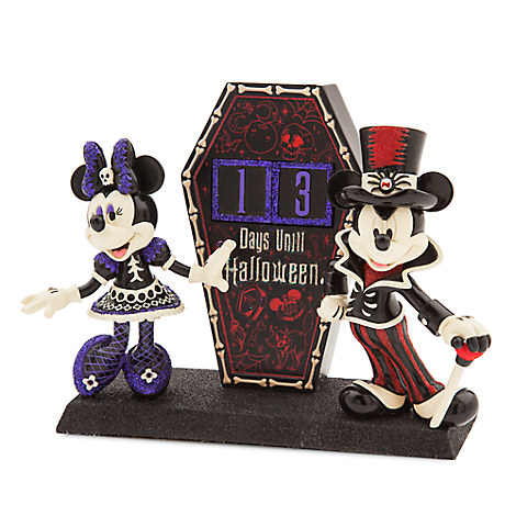 Mickey and Minnie Mouse Halloween Countdown Figure
