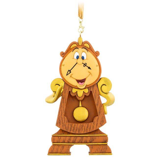 Cogsworth Figural Ornament – Beauty and the Beast