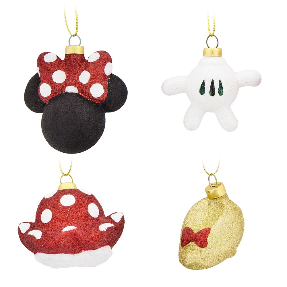 Minnie Mouse Ornament Set