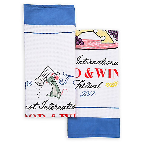 Remy Dish Towel Set - Epcot International Food and Wine Festival - 2-Pc.
