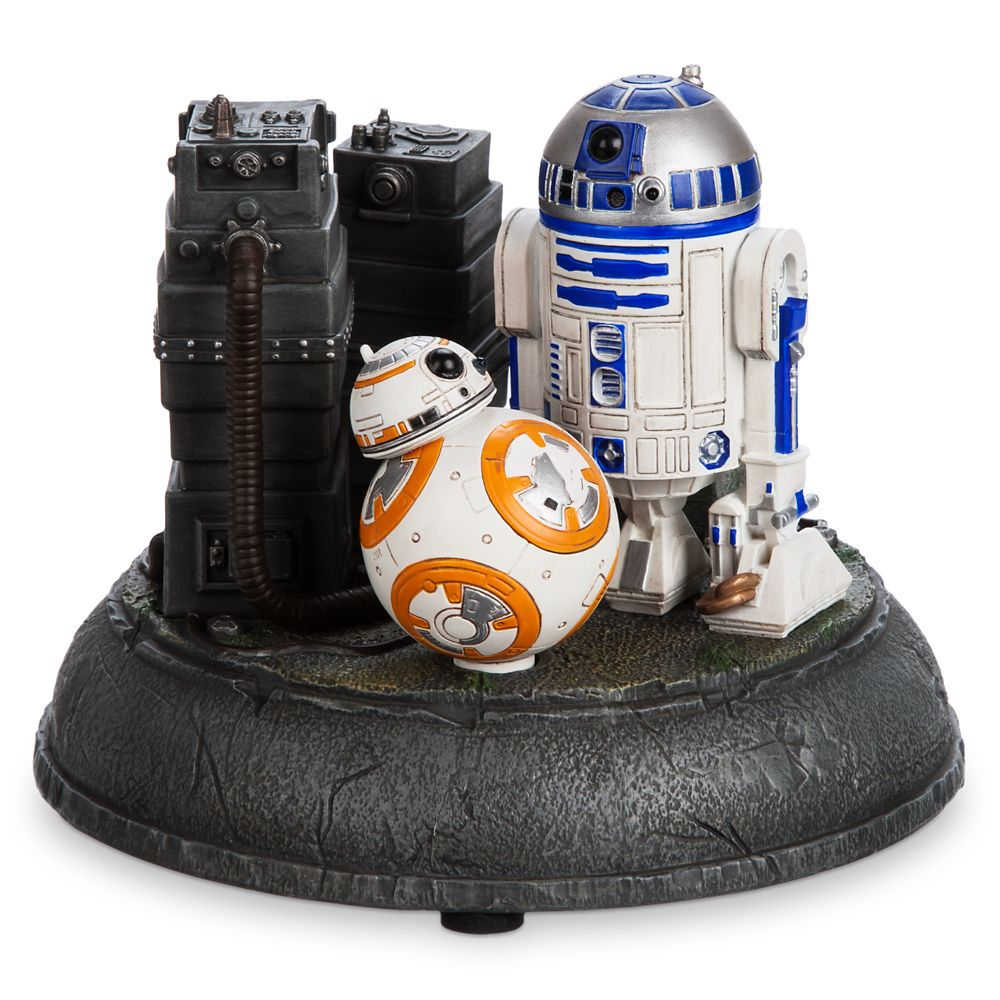 R2-D2 and BB-8 Astromech Droids Figurine – Star Wars: The Force Awakens