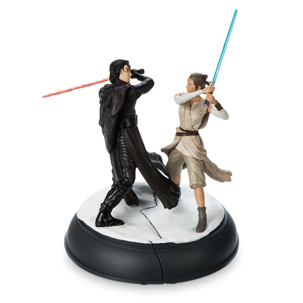 Kylo Ren and Rey Figurine Set  Star Wars: The Force Awakens Official shopDisney
