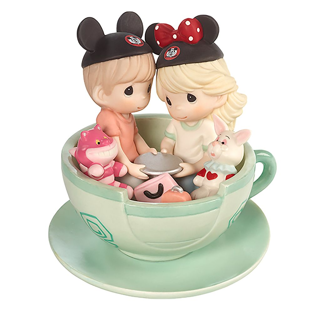 Disney Boy and Girl ''It's a Tea-riffic Day to Be with You'' Figurine  Precious Moments