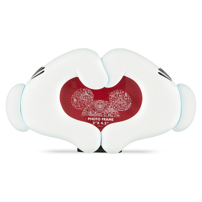 I Am Minnie Mouse Heart Hands Photo Frame