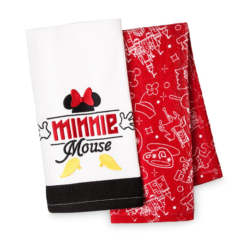 I Am Minnie Mouse Kitchen Towel Set