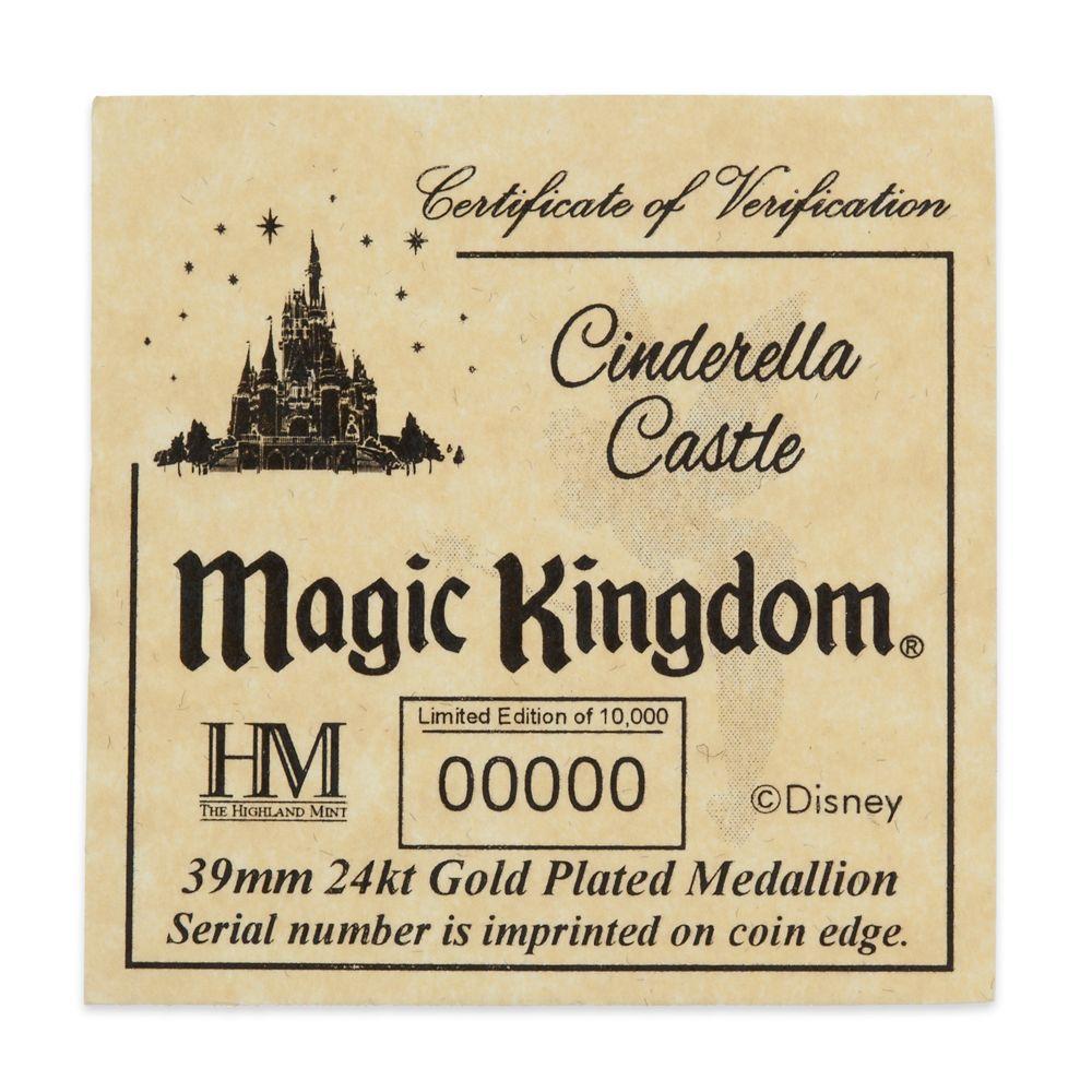 Walt Disney World Cinderella Castle Coin – Limited Edition