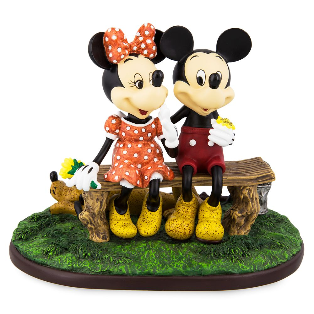 Mickey Mouse and Minnie Mouse ''Puppy Love'' Figurine