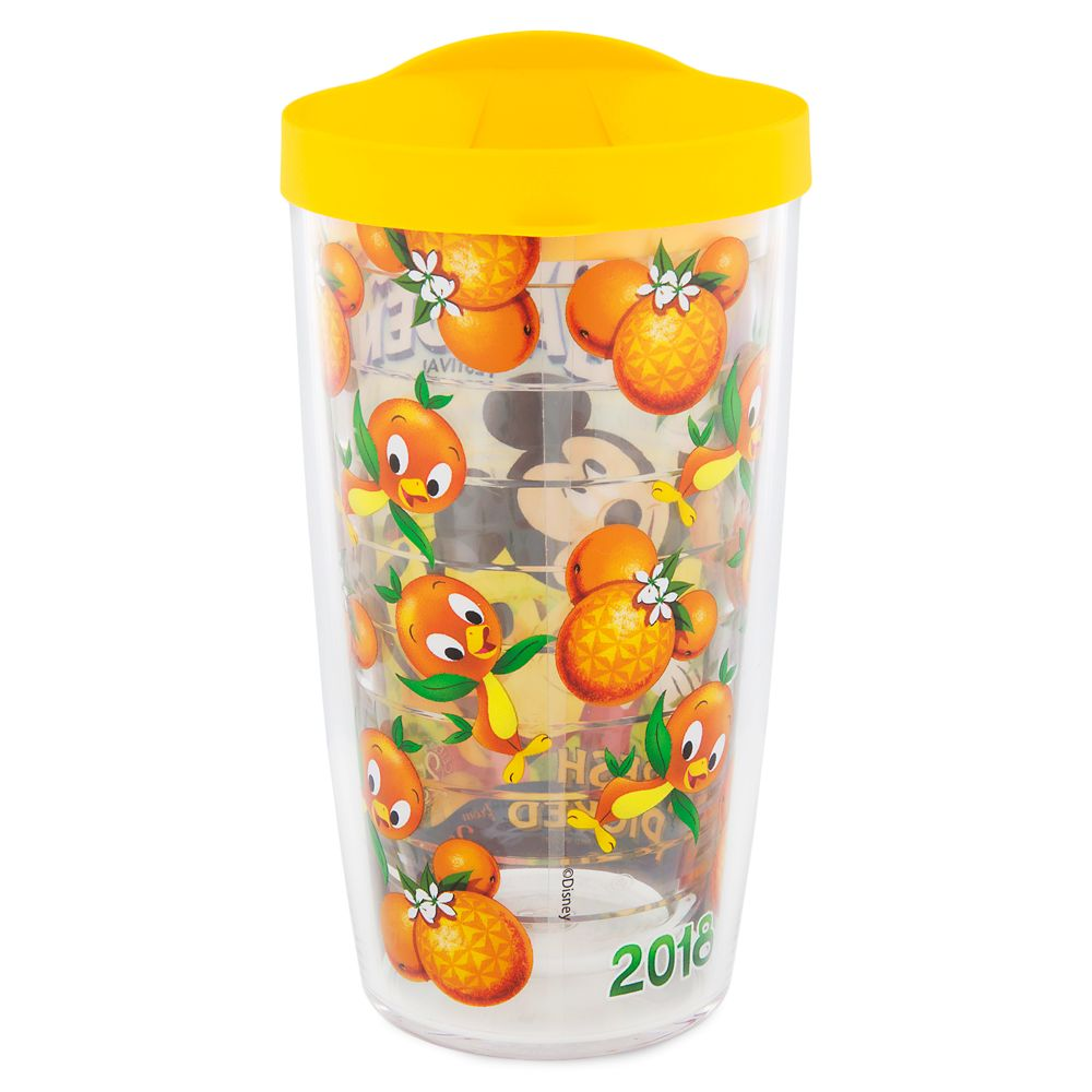 mickey mouse and pluto travel tumbler by tervis – epcot international  flower & garden festival 2018