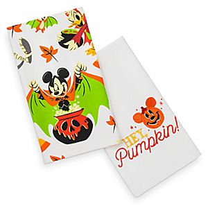 Mickey Mouse and Friends Halloween Kitchen Towel Set