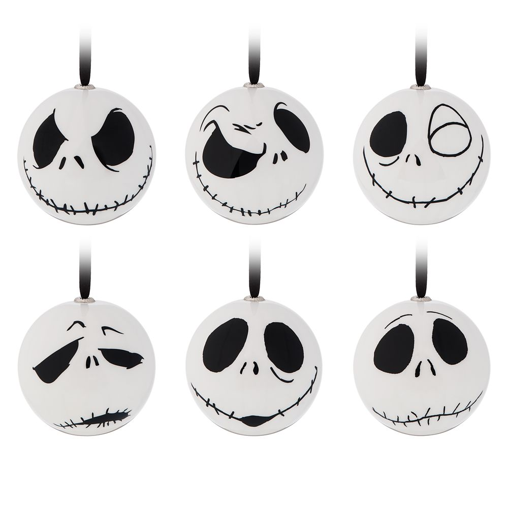 Jack Skellington Holiday Ornaments – The Nightmare Before Christmas