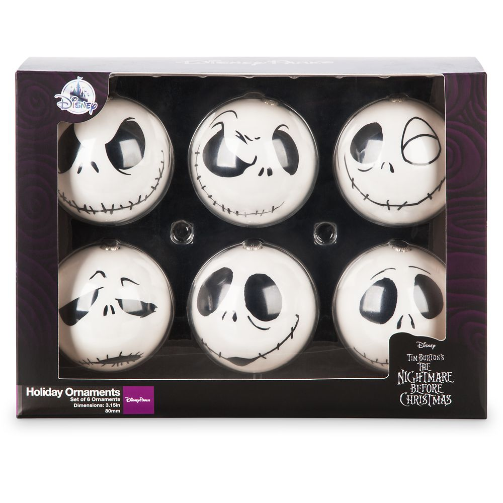 Jack Skellington Christmas.Jack Skellington Holiday Ornaments The Nightmare Before Christmas