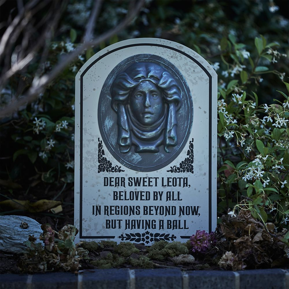 Madame Leota Tombstone Decoration The Haunted Mansion